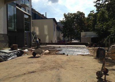 Daugiabučio namo statyba 2014